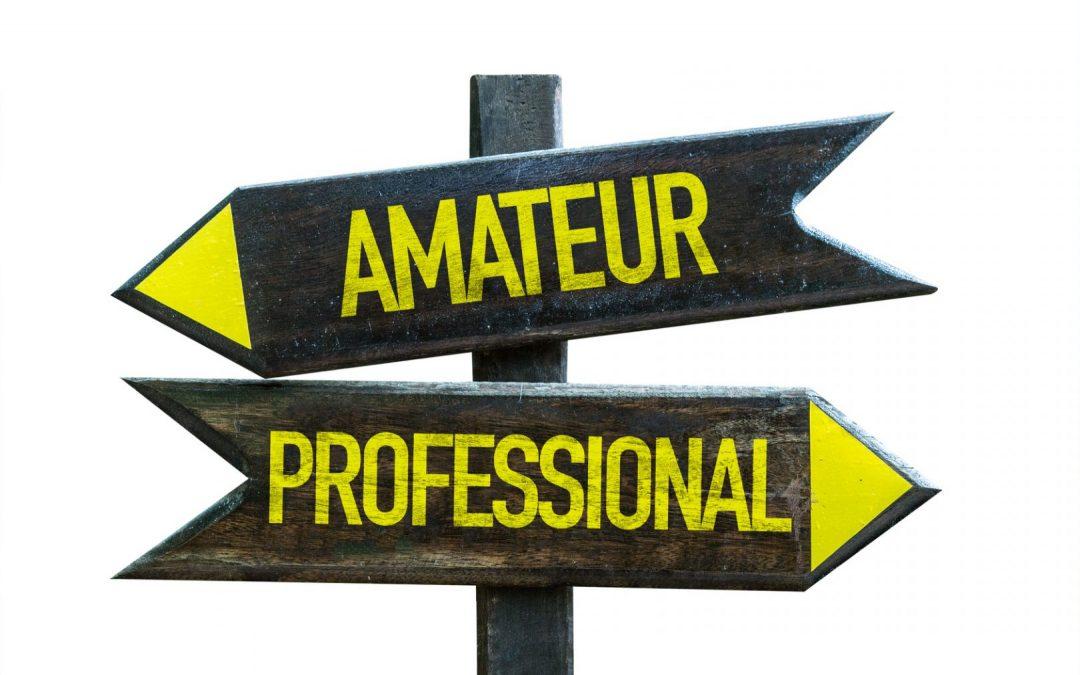 amator a profesjonalista