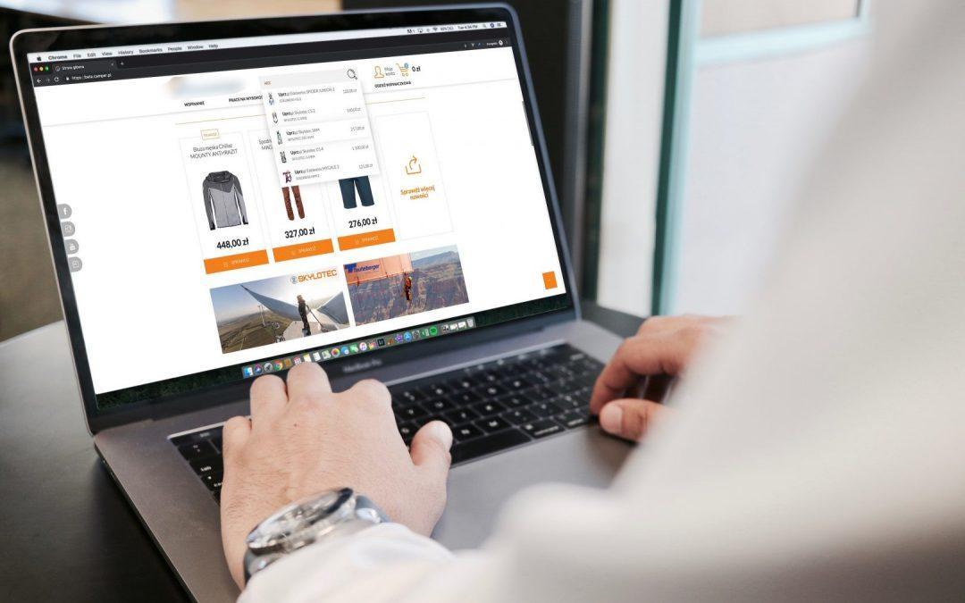 Comarch e-Sklep – Zintegrowany sklep internetowy.